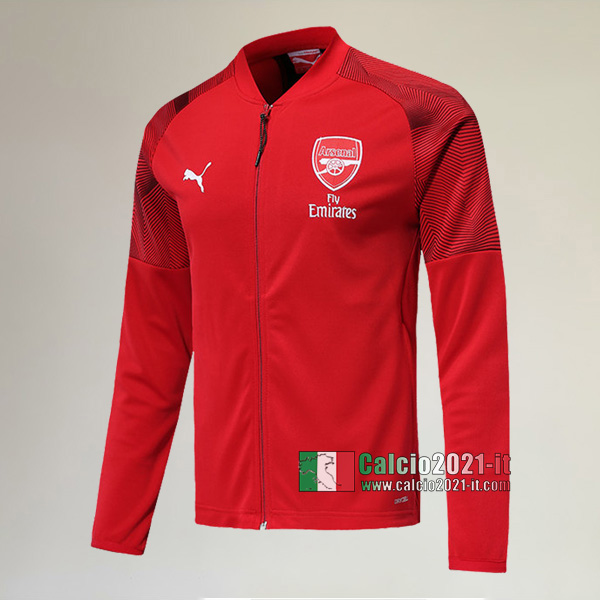 La Nuove Arsenal FC Full-Zip Giacca Rossa Retro 2019/2020 :Calcio2021-it