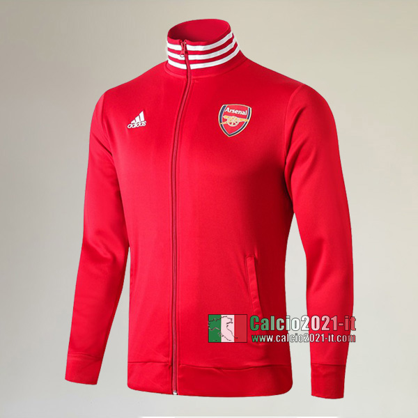 Nuova Del Arsenal FC Full-Zip Giacca Rossa Thailandia 2019/2020 :Calcio2021-it