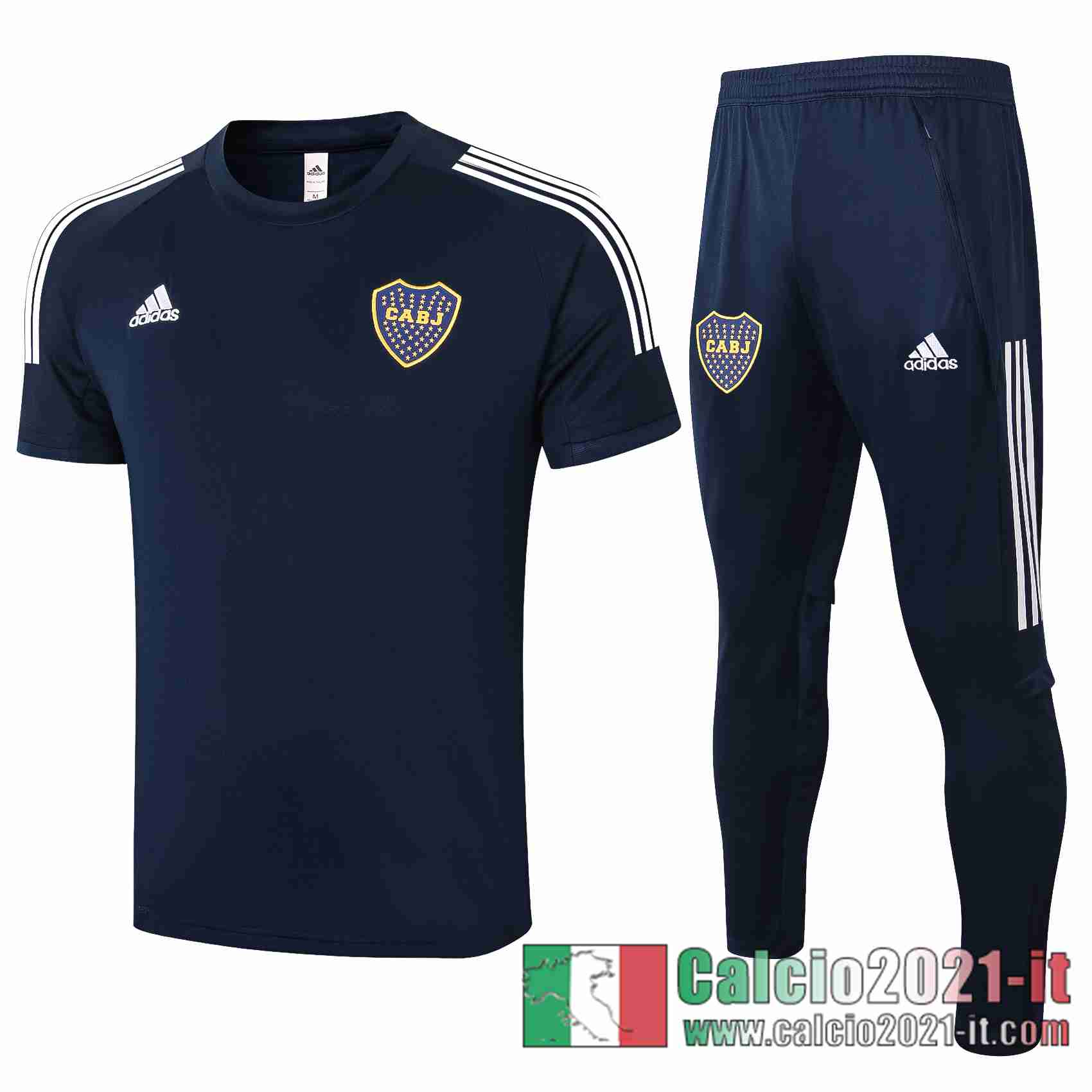 Boca Polo Calcio Blu scuro 2020 2021 C570