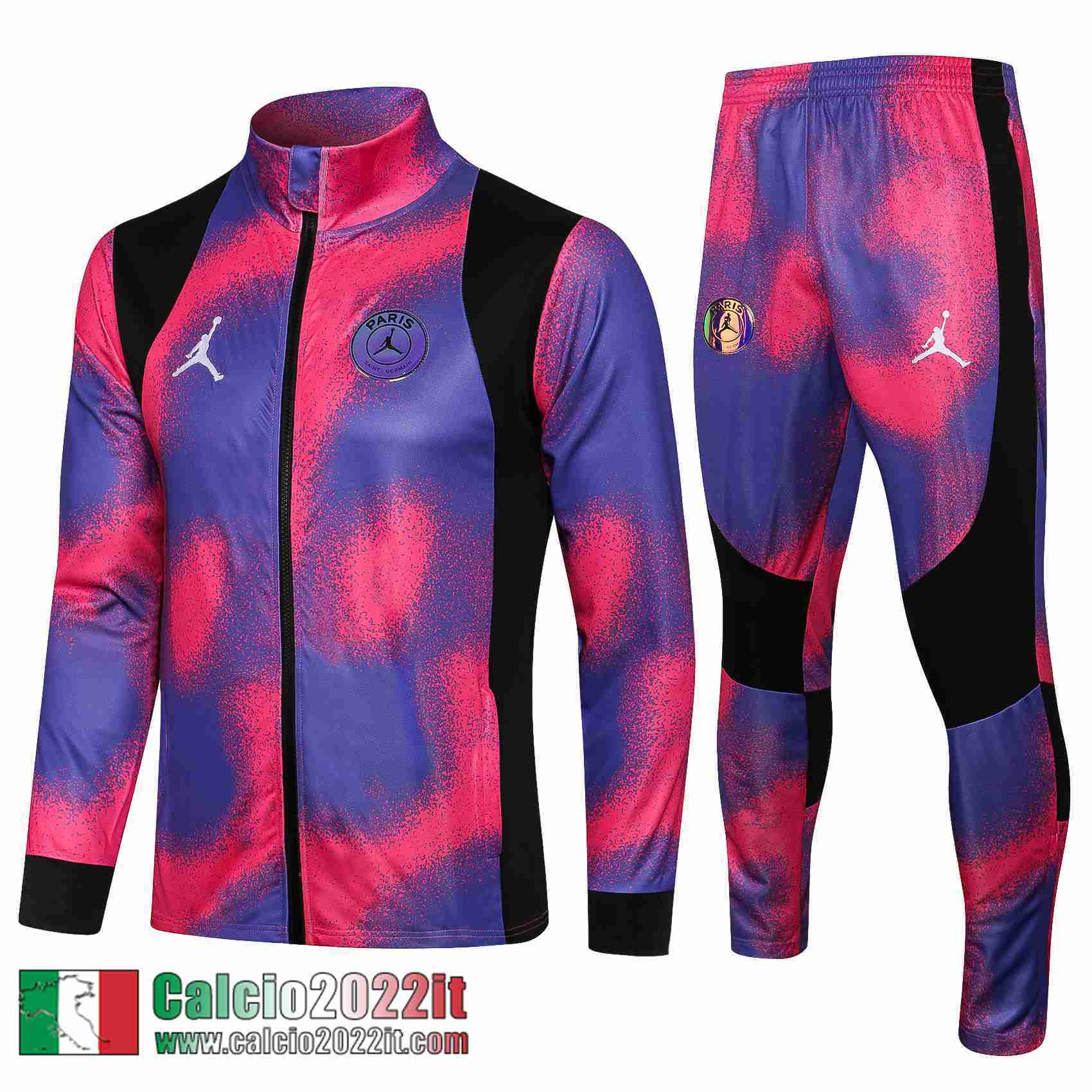 Paris Saint Germain Psg Air Jordan Full-Zip Giacca Multicolore Jk11 2021 2022